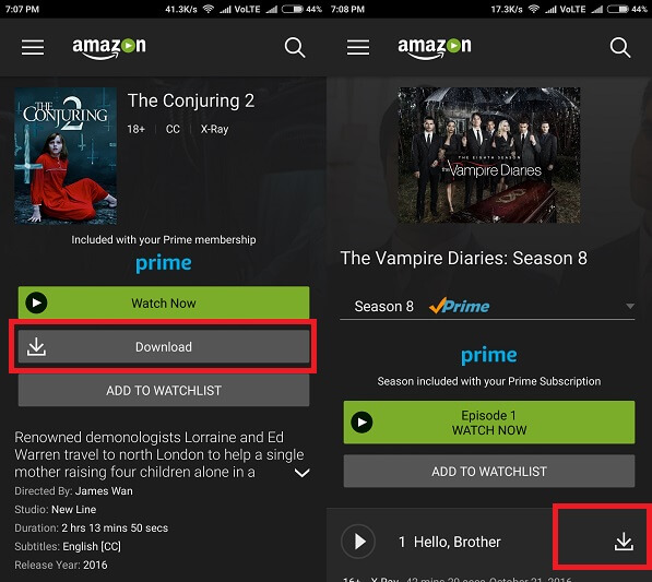 Download Amazon Video to PC - Android 2
