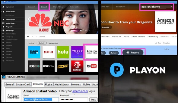 Download Amazon Video to PC - Playon