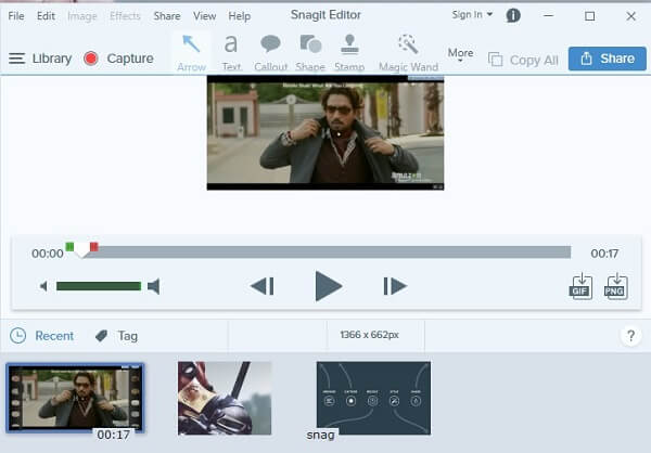 Snagit Software - Capture Prime Videos