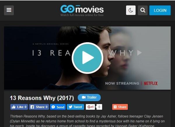 Go Movies - watch series online