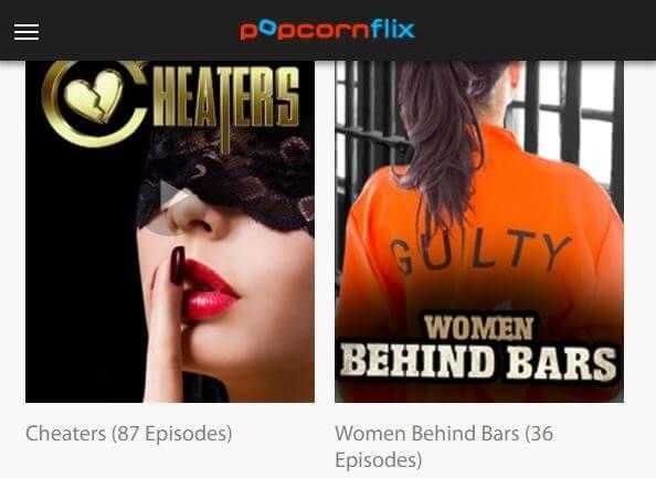 Popcornflix - watch series online