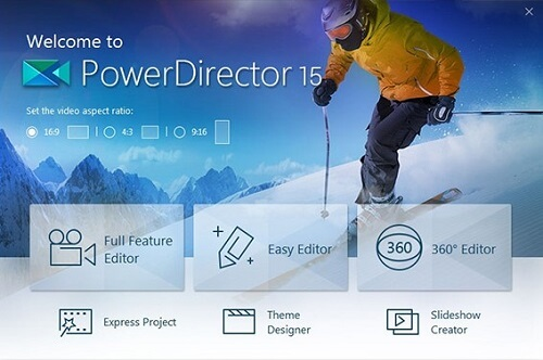 Power Director 15 - Best Video Editing Software