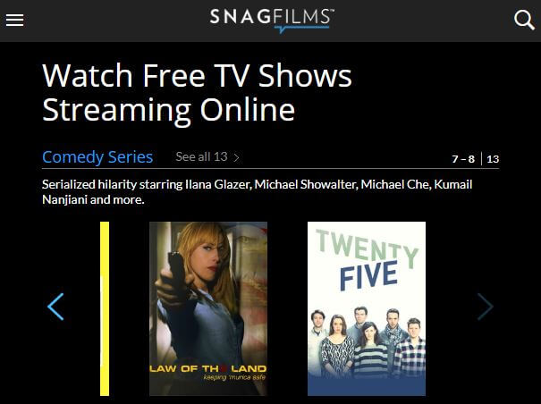 SnagFilms - watch series online