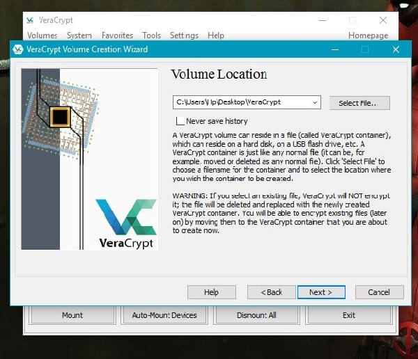 VeraCrypt - Encryption Software