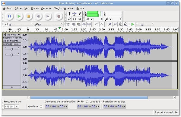 Audacity - Best music production software