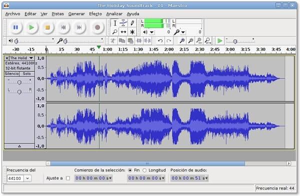 Audacity - Best music production software