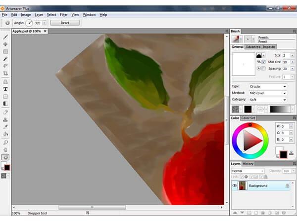 Best free Painting Software - Artweaver