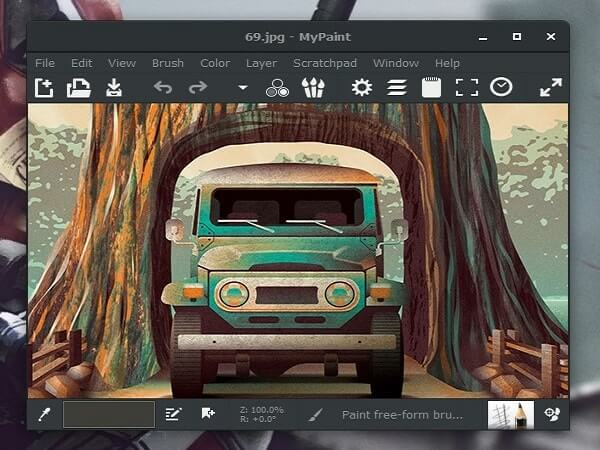Best free Painting Software - My Paint