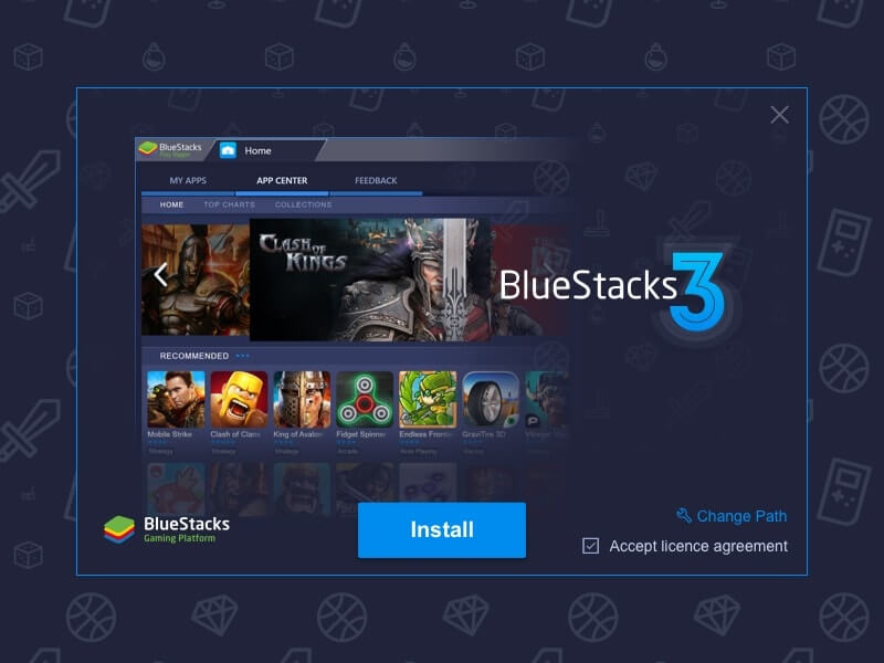 Bluestacks 3 - Play android games on PC