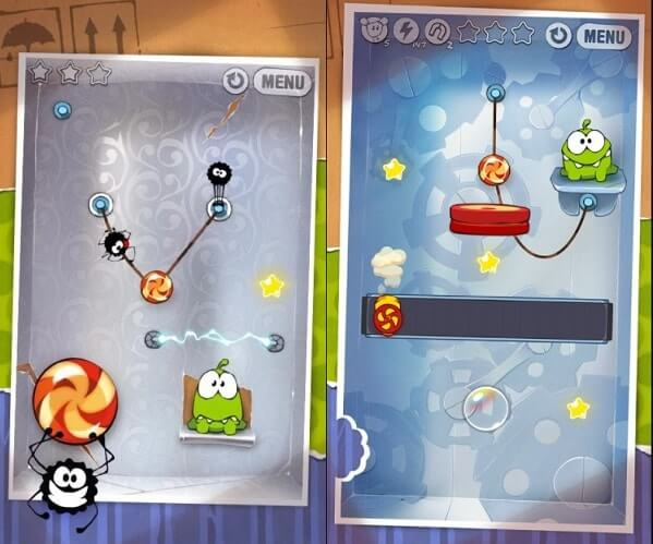Cut the rope - Best Puzzle Games