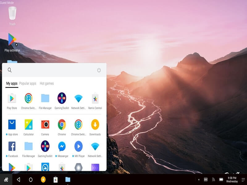 Android OS for PC - Dual Boot Remix OS