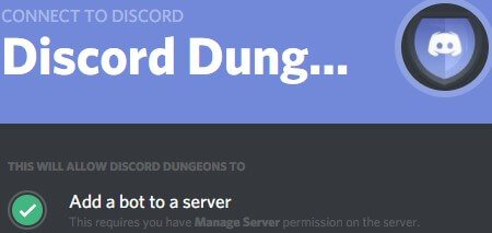 Dungeons - Best Discord bots