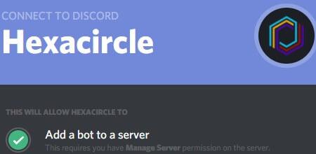 Haxacircle - Best Discord bots