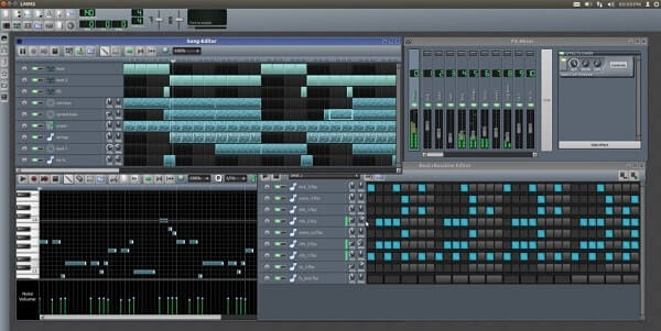 LMMS - Best music production software