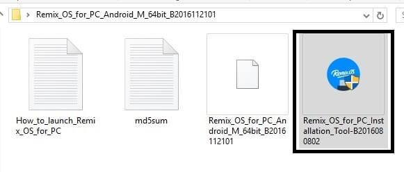 Remix OS Installer - Dual Boot Remix OS