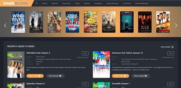Share Movies - Watch Movies Online