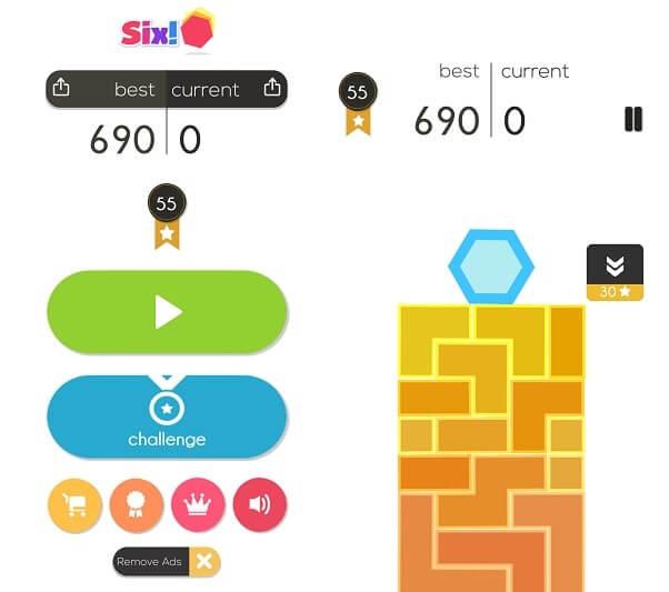 Six - Best Puzzle Games