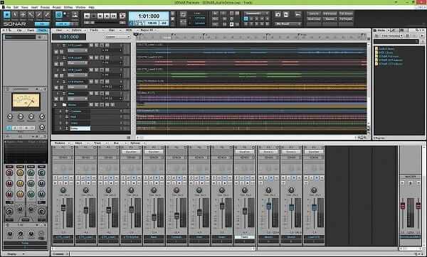 Sonar - Best music production software