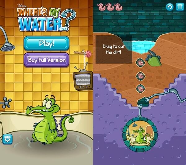 Where is My Water - Best Puzzle Games