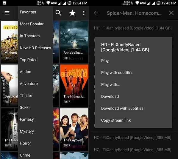 Download Free Movies - Terrarium TV