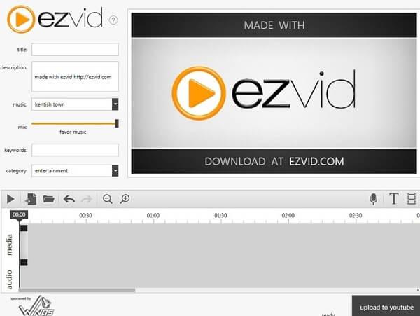 Ezvid - Best Game Recording Software