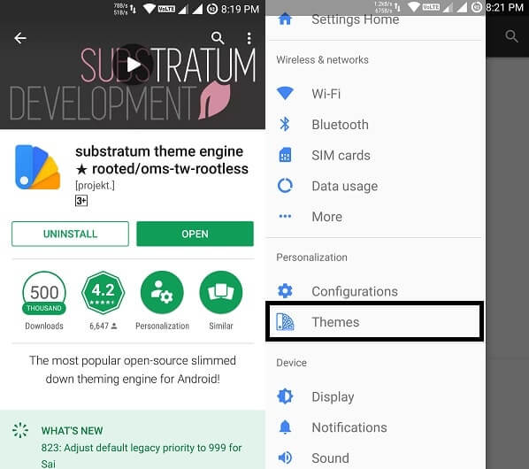 Install substratum Android theme - Download Substratum