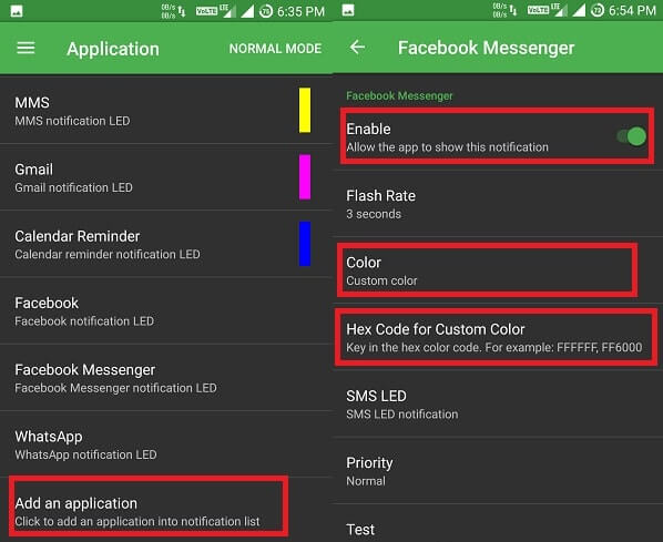 LED Manager - customize LED notification colors