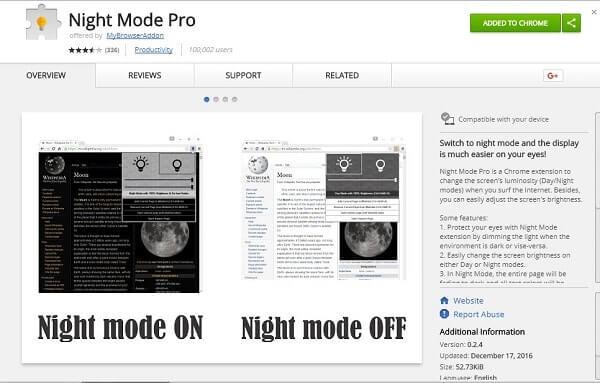 Screen Darkener - Night Mode Pro