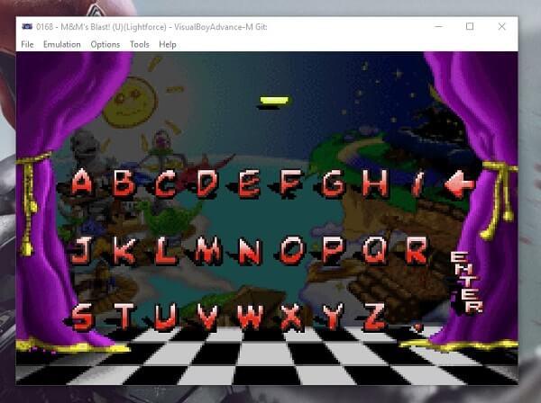 VBA - M - Best GBA Emulator