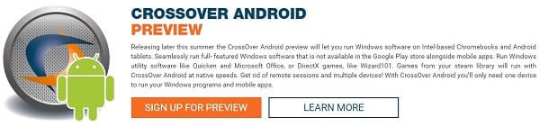 run Windows Programs on Android - Crossover download