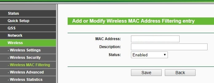 Block Mac Address - who is connected to my WiFi