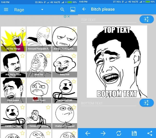 Best meme generator Apps for Android - Create Memes.
