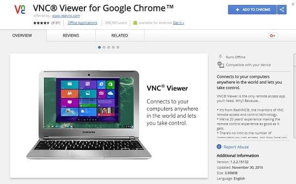 RealVNC - TeamViewer Alternative