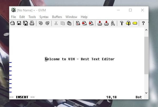 Vim - Best Text Editor