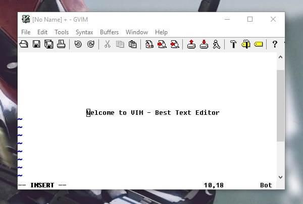 Vim - Best Text Editor