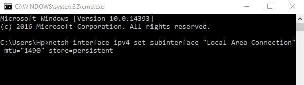 Change MTU limit - How to fix packet loss