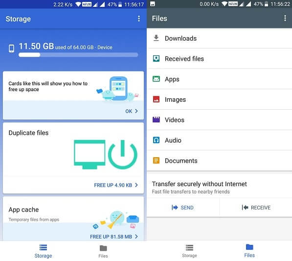 Files Go Best Android Cleaner App
