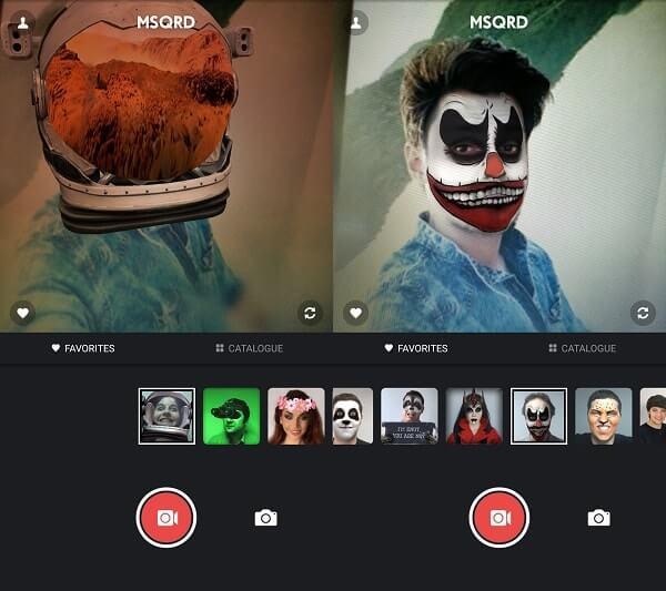 MSQRD - Apps Like Snapchat