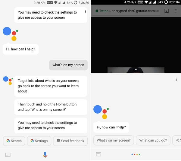 reverse image search using Google Assistant