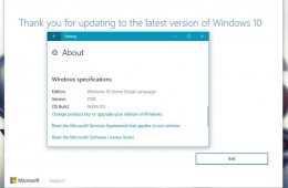 Install Windows 10 Creators update