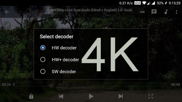 MX Player - 4k video player