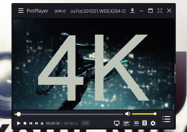Pot Player - 4K video player