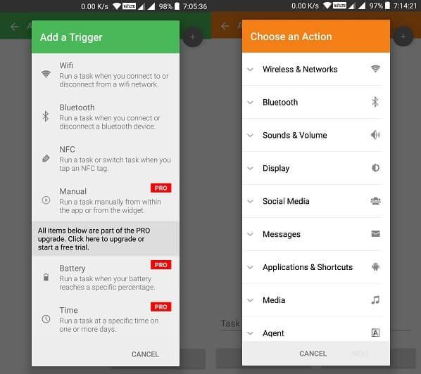 Trigger App - Automate App