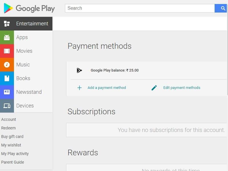 Earn Free Google Play Credit