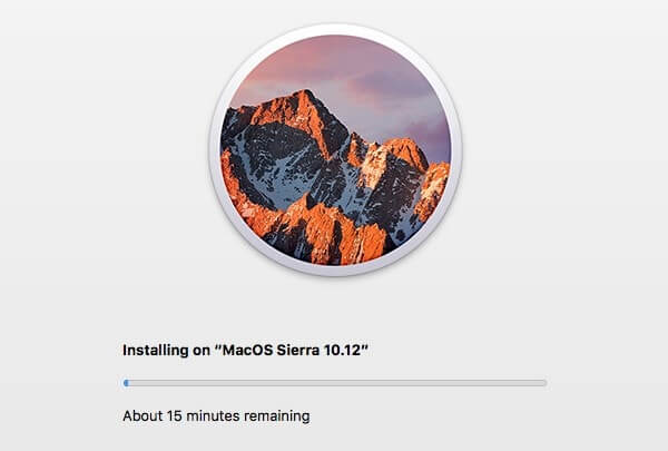 Installation Mac OS Sierra