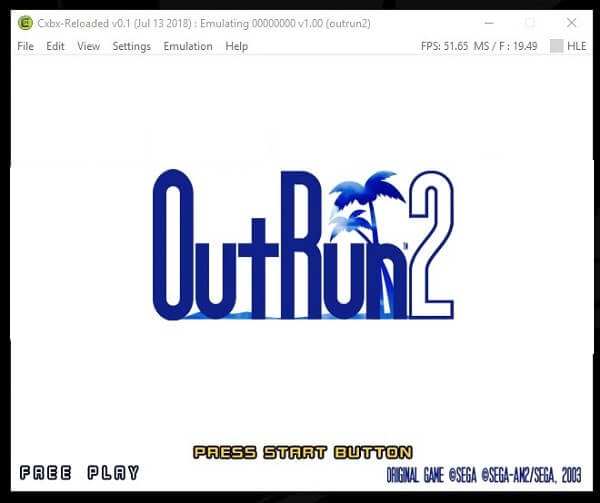 CXBX Reloaded Xbox One Emulator