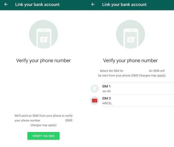 Verify VIA SMS.