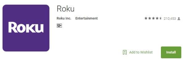 Roku App.