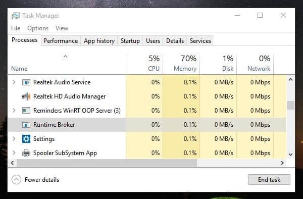 How to fix Windows 10 Memory Leak and high CPU usage  - BounceGeek
