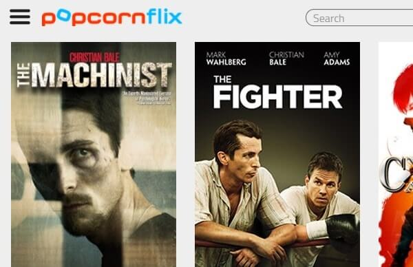 Popcornflix Movies streaming sites